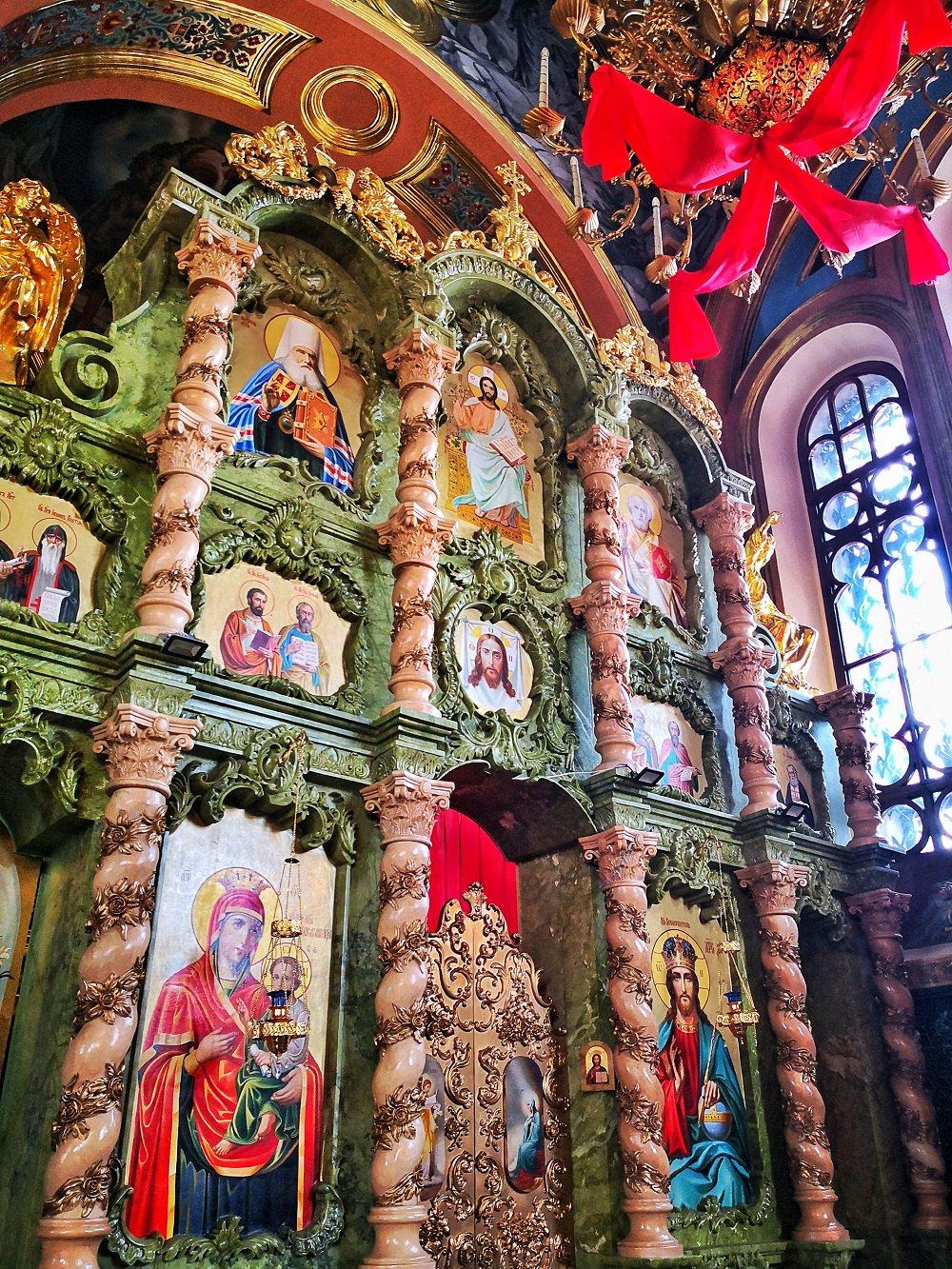 伊爾庫茨克(Irkutsk)喀山聖母教堂